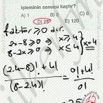 Faktoriyel eksi olamaz. #ygs #lys matematik