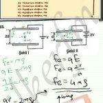 Elektrik alan dan doğan elektriksel kuvvet q.E dir #fizik