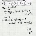 Bir fonksiyona çizilen teğetler dik ise eğimler çarpımı – 1 dir. #lys