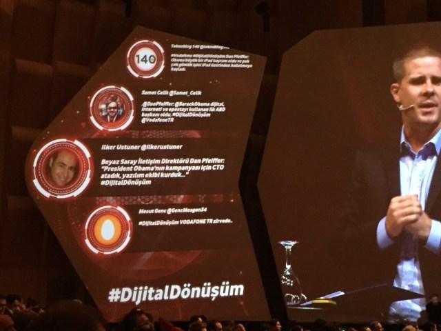 Dan Pfeiffer - Vodafone Dijital Dönüşüm Zirvesi