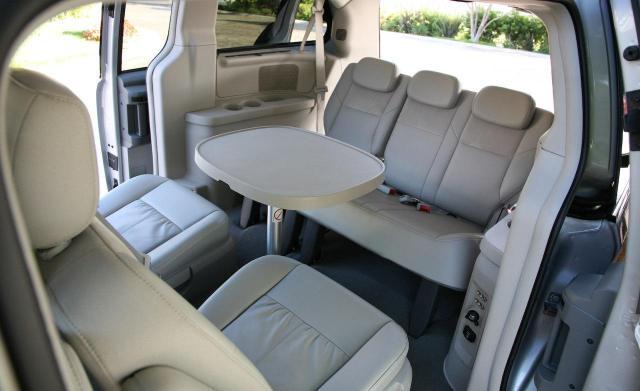Chrysler Voyager iç mekan