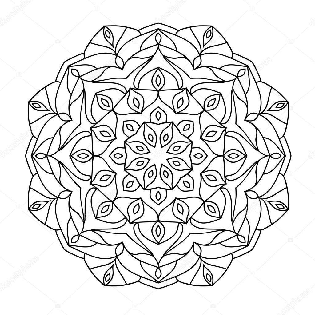 Mandala Boyama Resimleri