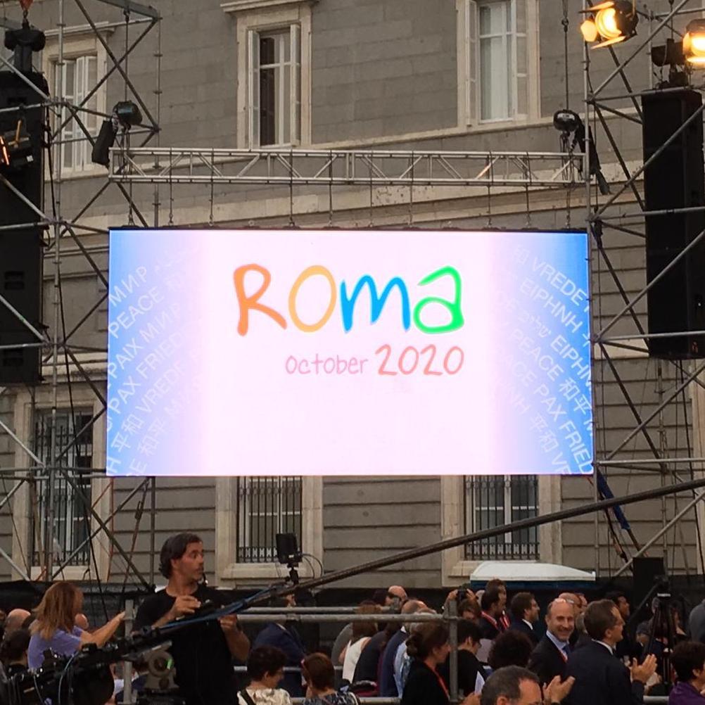 Roma 2020: la Capitale ospiterà la Preghiera per la Pace