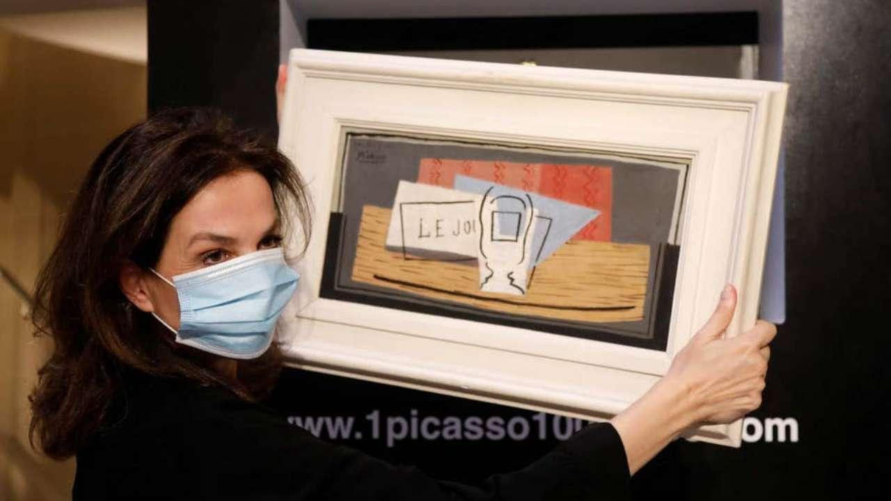 Ventimiglia: vinto un quadro Picasso da 1 milione di dollari con un biglietto di 110 dollari