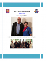 Rotary Report 201415