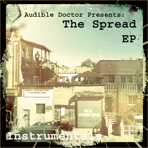"The Audible Doctor ""The Spread"" (Contest Inside)"