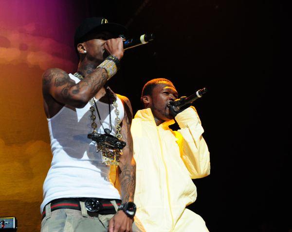 50 Cent – Performs With Lil Wayne – Soulja Boy?