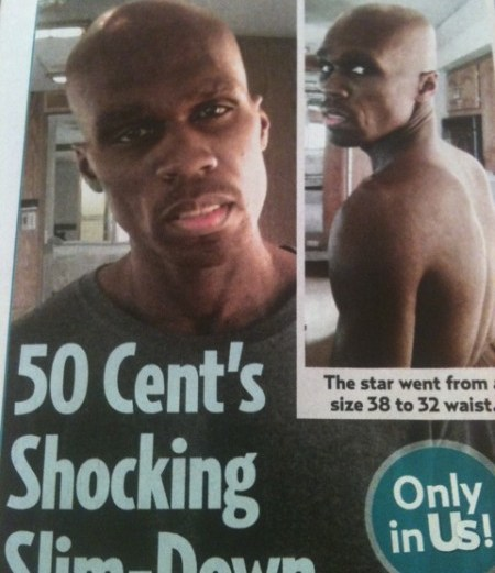 50 Cent Drops Weight – Shocking Pictures