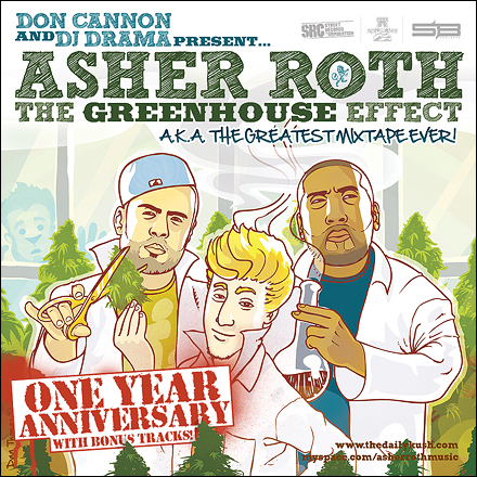 Asher Roth – The Greenhouse Effect (One Year Anniversary)