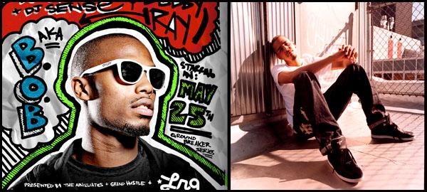"""J. Cole ft. B.o.B. """"Pass My By"""""""