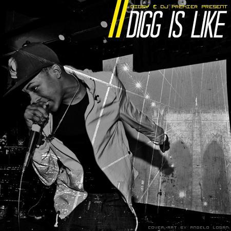 """Diggy Simmons """"Digg Is Like"""""""