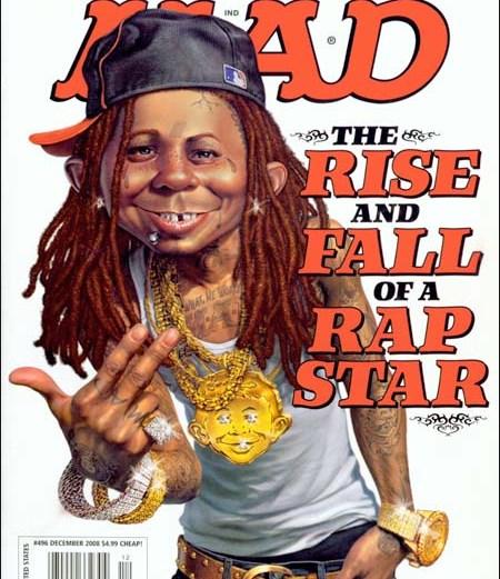 Lil Wayne's Mad Magazine Cover