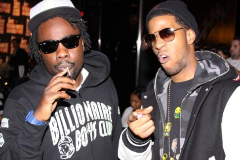Wale & Kid Cudi Stir-Up Some Dry Beef.