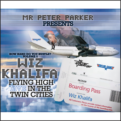 Wiz Khalifa Flying High In The Twin Cities (Mixtape)