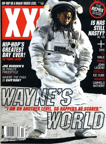 Lil Wayne – XXL – October Cover