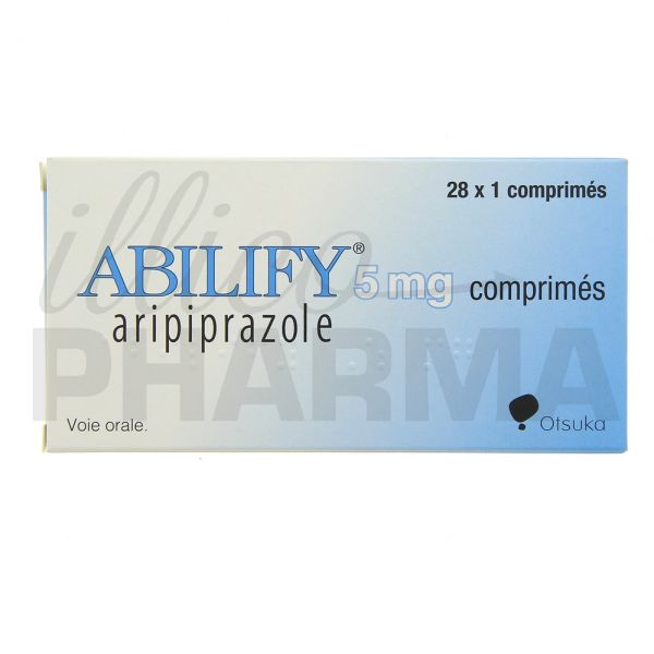 Médicament Abilify 5mg 28cpr - Psycholeptiques - Pharmacie ...