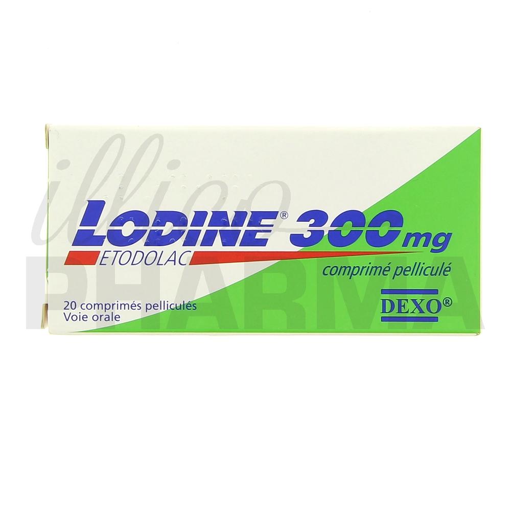 Lodine 300mg 20cpr - Antiinflammatoires & antirhumatismaux ...