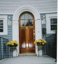 Home Entrance Door: Arched Exterior Doors