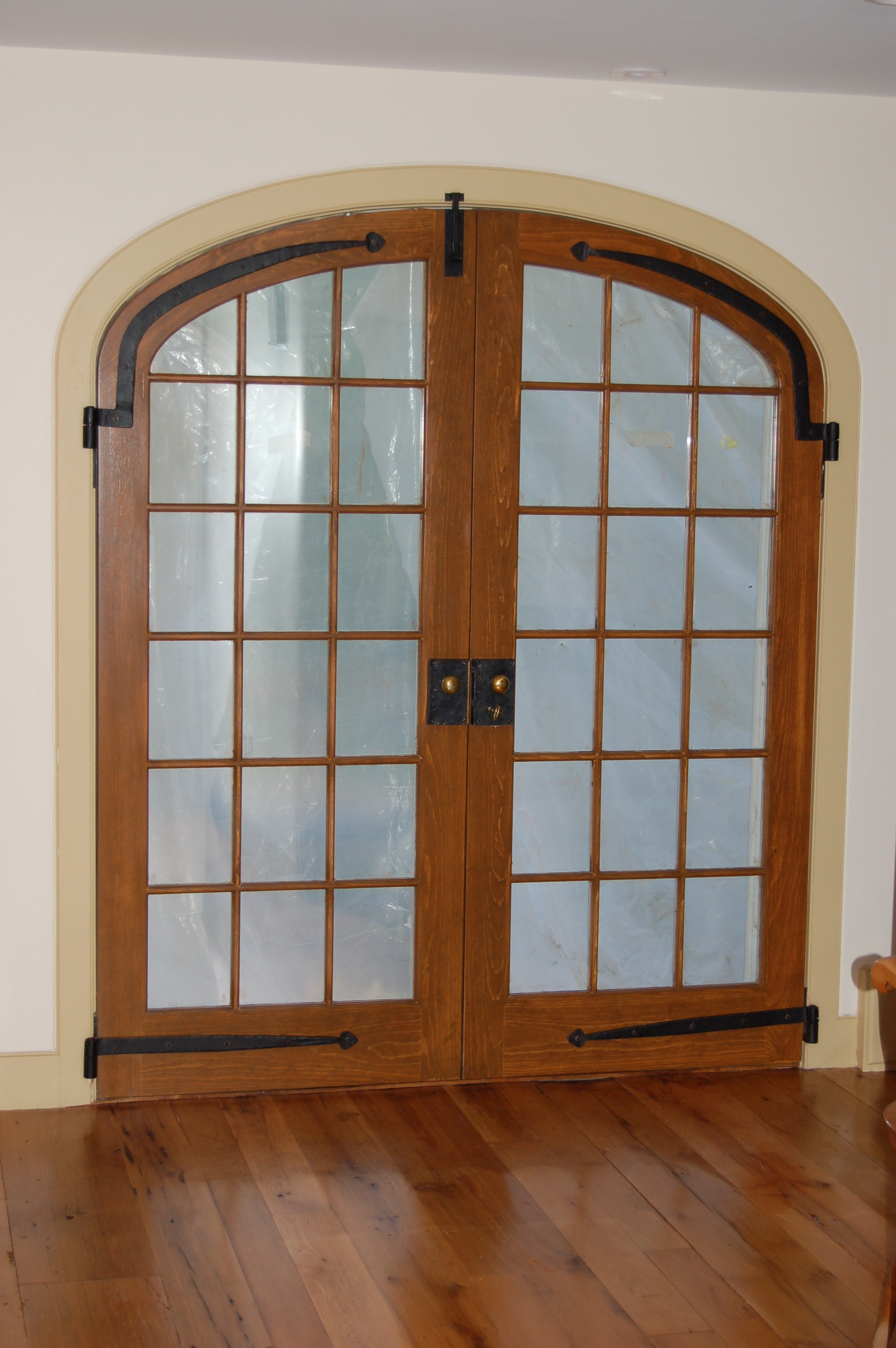Round Top French Doors