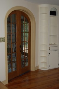 Custom made interior solid wood doors; French, Arch top ...