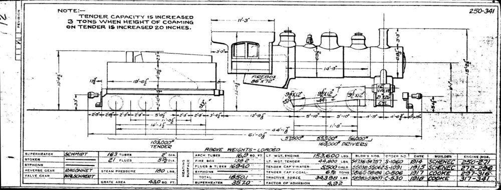 medium resolution of page 18 locomotives 541 598 page 19 locomotives 641 644 page 20 locomotives 651 670 671 730
