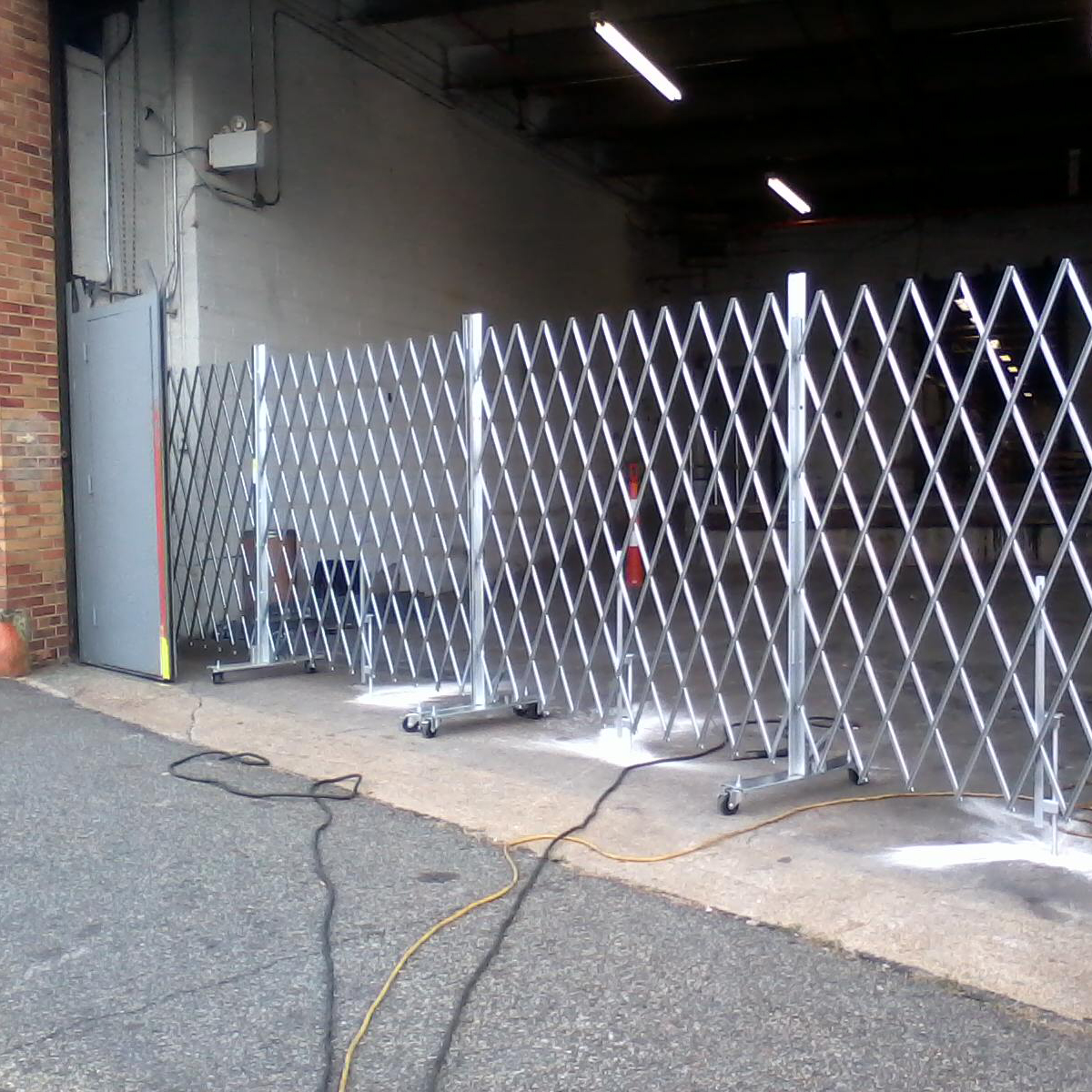 Heavy Duty Portable Gates  Illinois Engineered Products