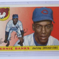 Ernie Banks Card