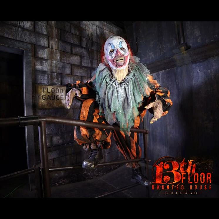 13th Floor Haunted House Chicago  Illinois Haunted Houses