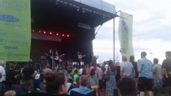 Beatles Tribute band American English performing at Taste of Orland Park 2016