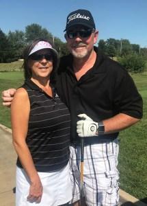 Past President Sheryl Grider Whitehurst enjoys golf.