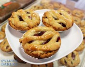 Swedish Bakery - Mini Cherry Pies for Pi Day