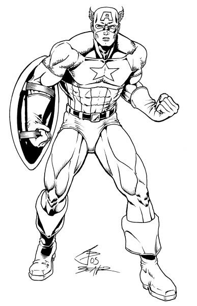 Illmosis Art: Captain America