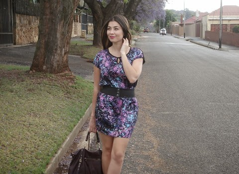 Outfit Of The Day – Purple Bloom