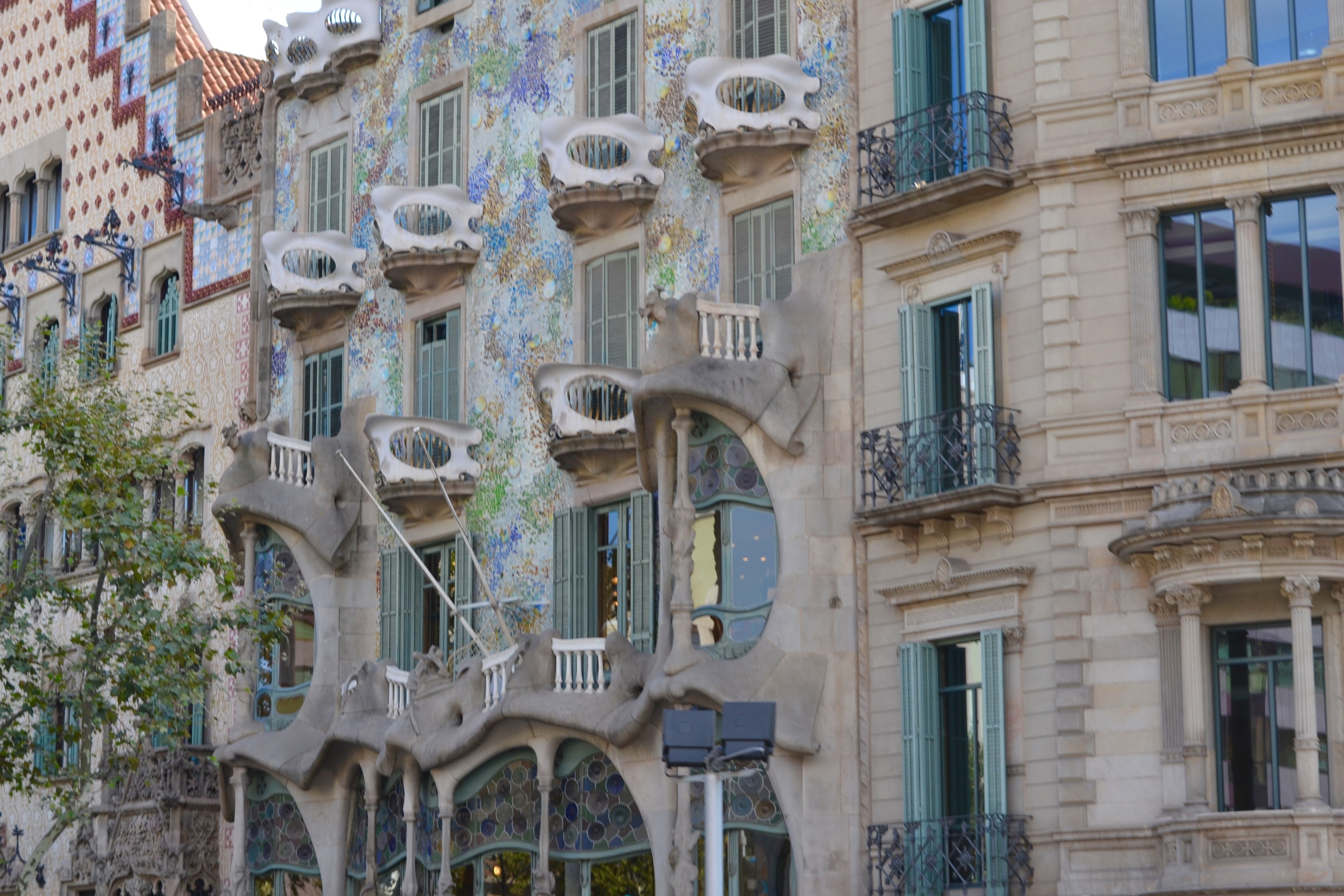The famous Casa Batllo