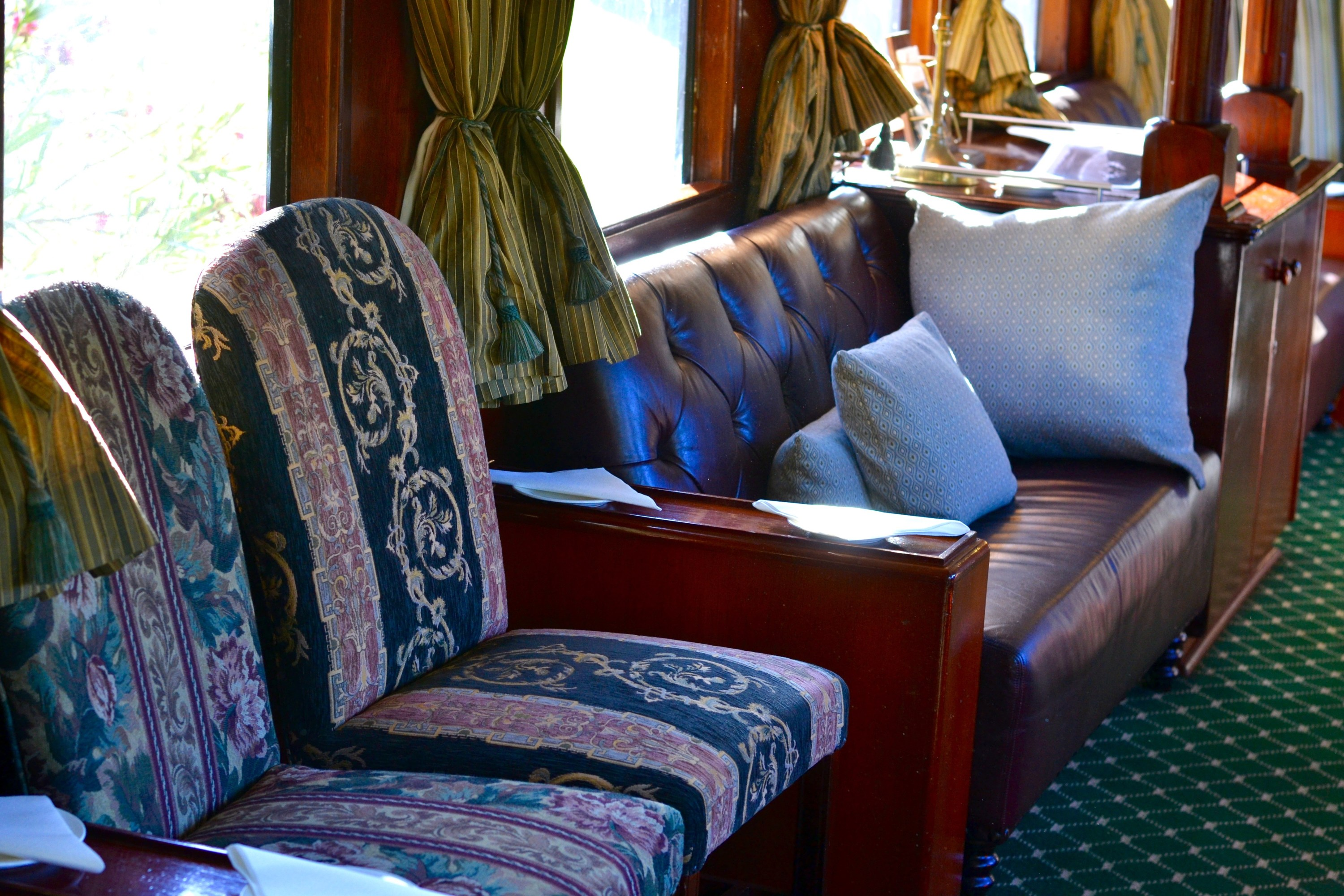 things to do in zambia Royal Livingstone Train