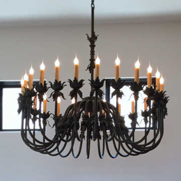 Chandeliers View All Wrought Iron Tingligh