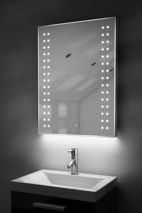 Bathroom Mirrors with Clock