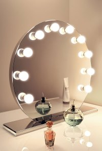 Mirror Finish Hollywood Make Up Mirror with Cool White LED ...