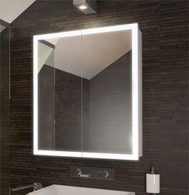 bathroom cabinets, mirrored bathroom cabinet with lights