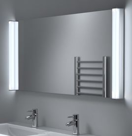 bathroom mirrors, led bathroom mirror with lights - illuminated