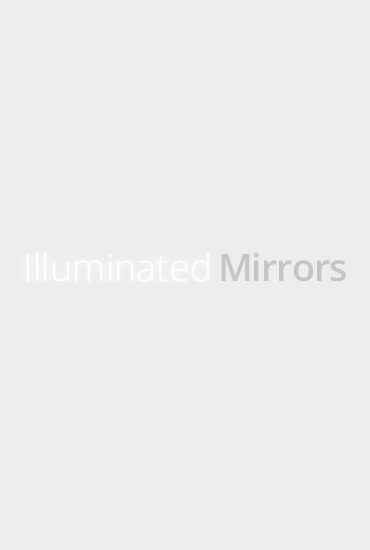 Marlin Double Edge Bathroom Mirror H 720mm X W 500mm X D