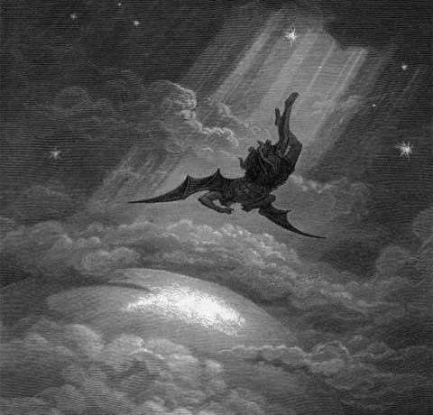 Lucifer, by Gustave Dore