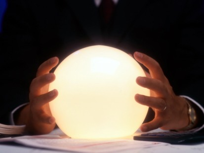 Crystal Ball, symbolic for looking into the future. But do we need it?