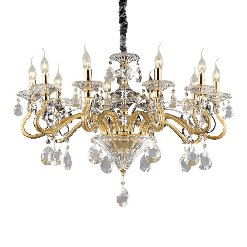 In questa selezione pubblichiamo disegni di lampadari con stile classico. Ideal Lux Colossal Sp30 Lampadario Classico Per Salone