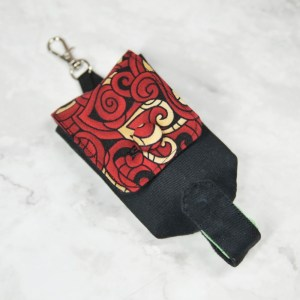 Hand Sanitizer Carrier - Tribal Red