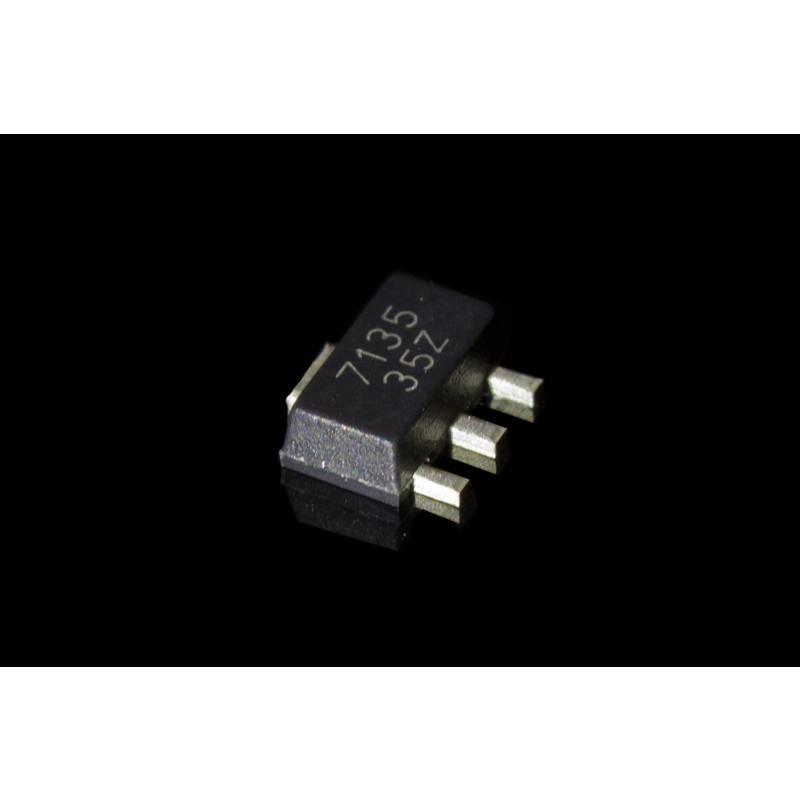 Amc7135 Led Flashlight Driver Circuit 27v6v 350ma Constant