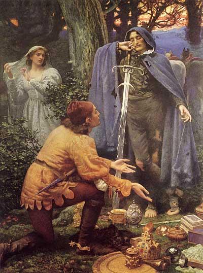 Bertuccio's Bride, Edward Robert Hughes