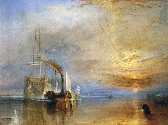 The Fighting Temeraire av J M W Turner
