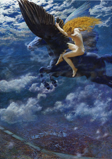 Dream Idyll, Edward Robert Hughes