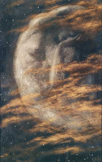 The Weary Moon, Edward Robert Hughes